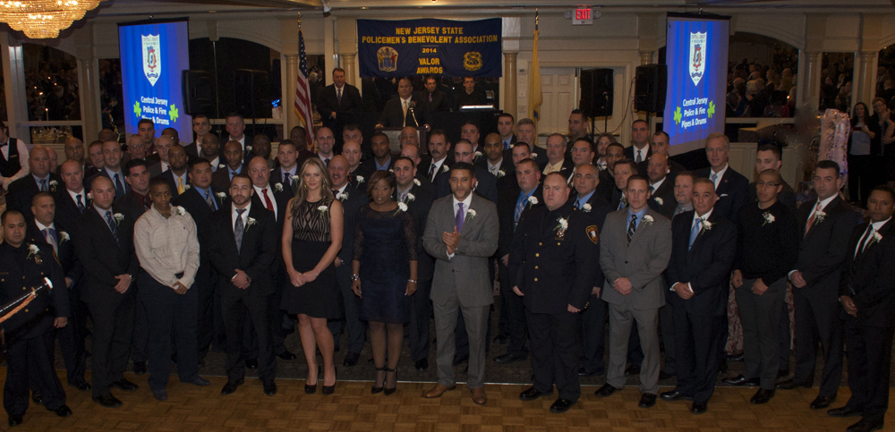 NJ State PBA 2014 Valor Awards