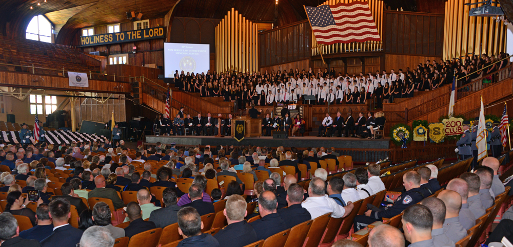 2014 NJ State Law Enforcement Officers Memorial, Ocean Grove, NJ
